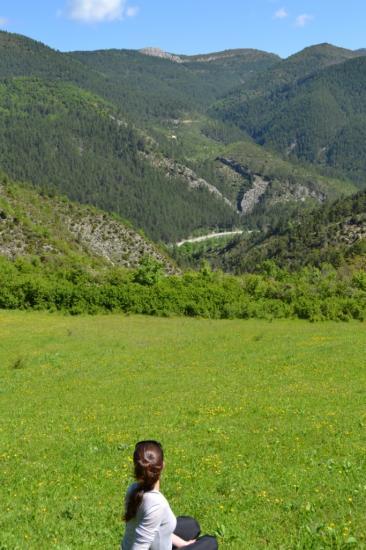 paysage autour du hameau